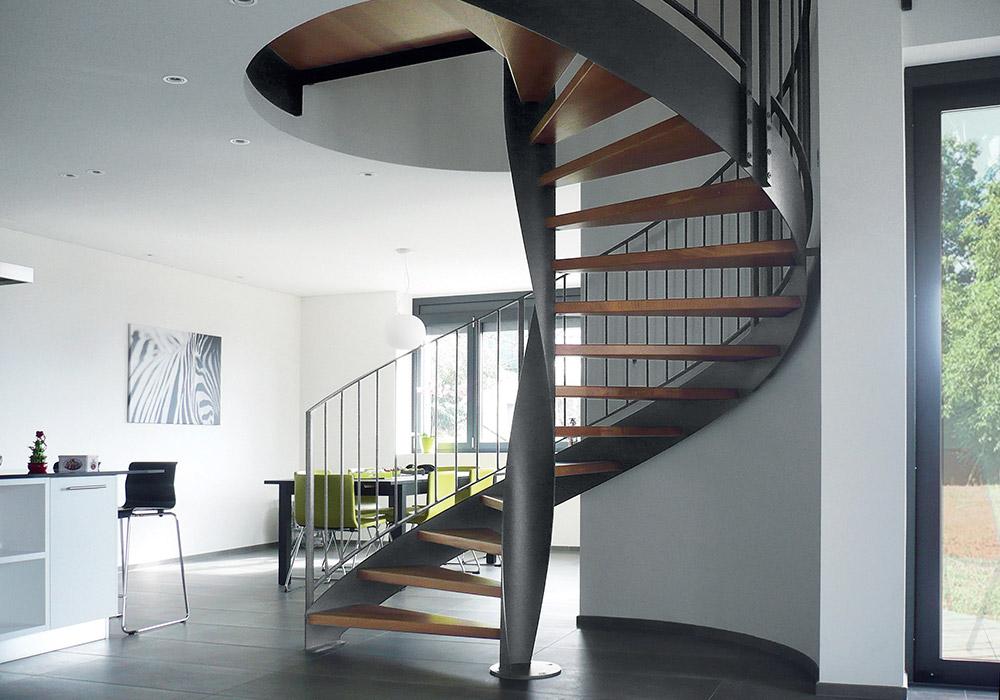 Scale verona scale interne scale a chiocciola e - Scale a chiocciola moderne ...