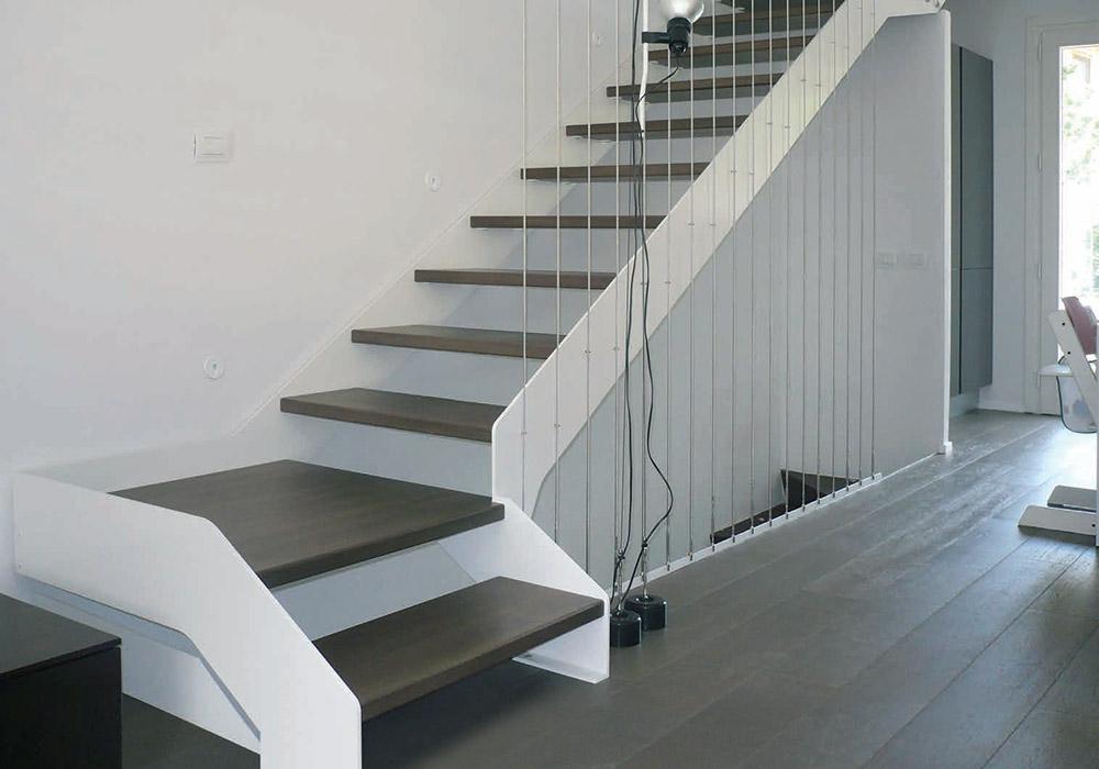 Scale verona scale interne scale a chiocciola e soppalchi su misura by duelle - Scale per appartamenti ...
